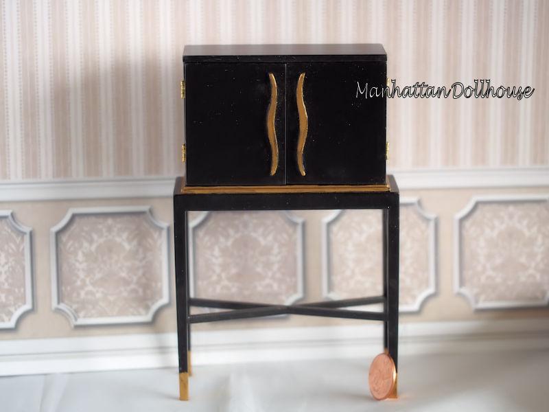 Art Deco Cabinet Jbm J31077 75 00 Manhattan Dollhouse