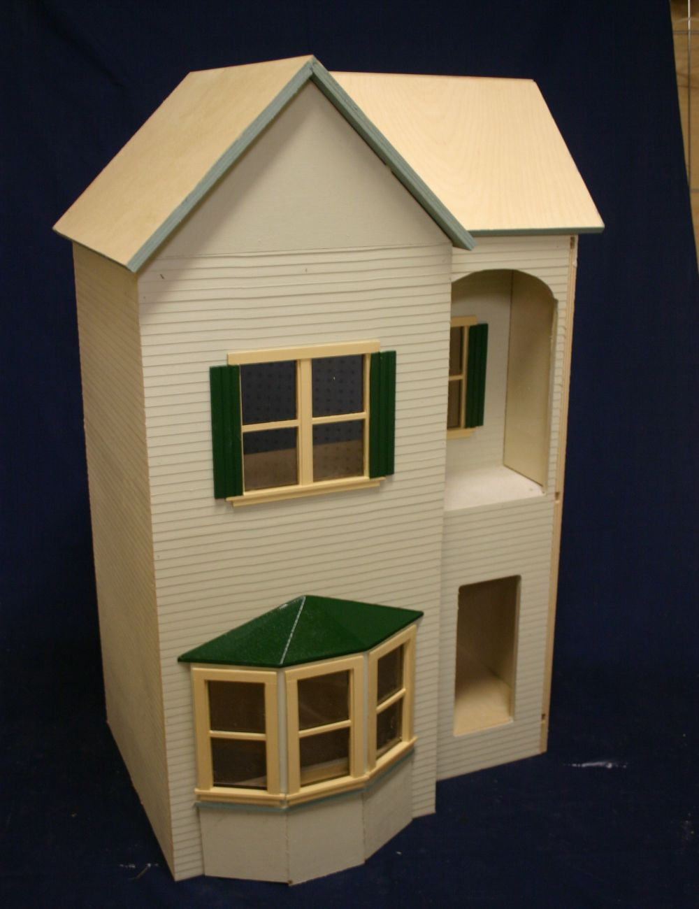 The Belmont Dollhouse Kit - Click Image to Close