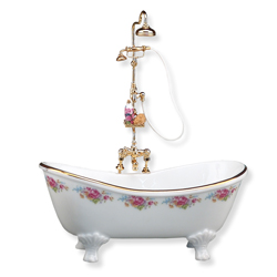 Dollhouse Minature Victorian Bathtub