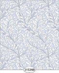 Willow Blue Periwinkle Wallpaper