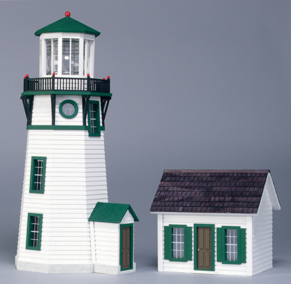 Finished 1/2 Scale New England Lighthouse - Click Image to Close