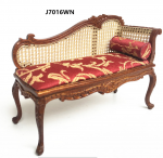 French Rocco Style Couch Louis XV by JBM