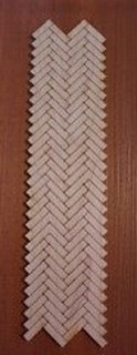 Miniature Herringbone Wood Floors