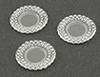 Dollhouse Lace Edge Plates-3 pieces