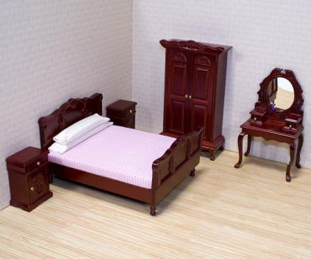 Melissa and Doug Victorian Bedroom Furniture Set [MDVBFS577 ...