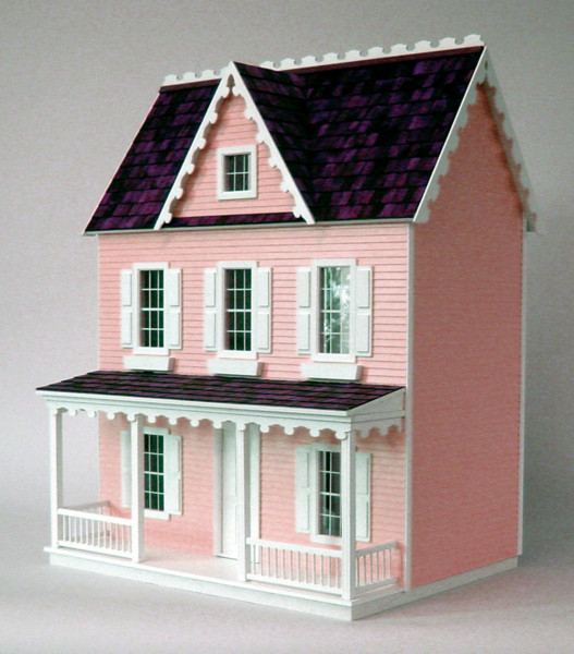 Vermont Farmhouse Jr. Dollhouse Kit - Click Image to Close