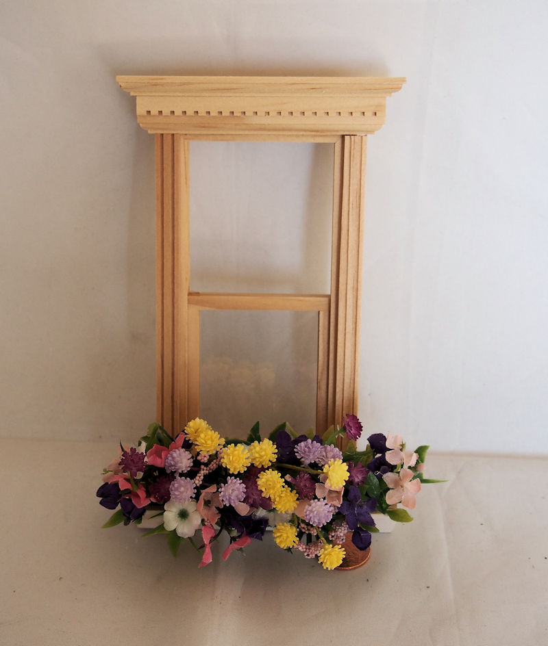 Miniature Flower Box - Click Image to Close
