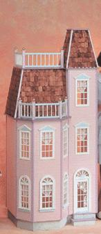 Playscale Victorian Town House Dollhouse Kit