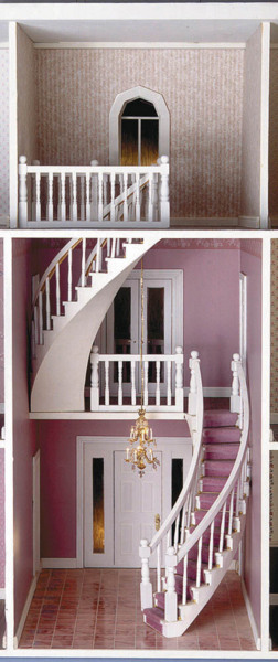 Assembled Curved Staircase - Click Image to Close