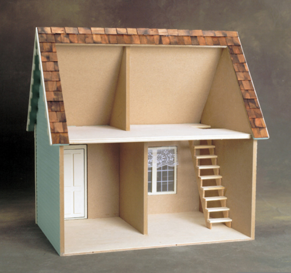Scale Keeper's House Dollhouse Kit - Click Image to Close