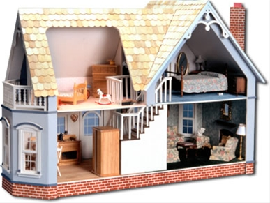 The Magnolia Dollhouse - Click Image to Close