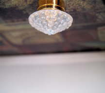 Thompson Street Dollhouse Wall Lamp with Brass Finish W13