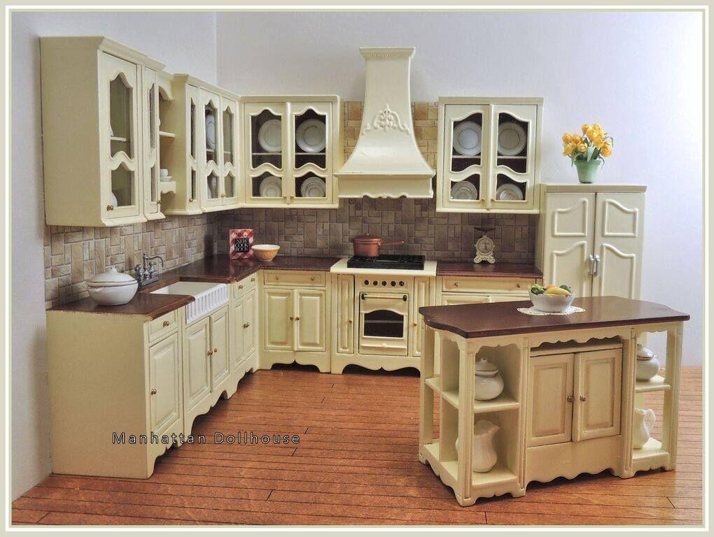 Bespaq S Miss Paula S Kitchen In Creme And New Walnut 499 00