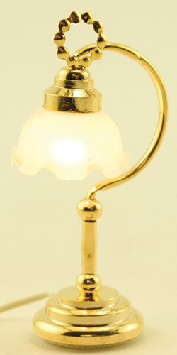 Fluted Shade Desk Lamp