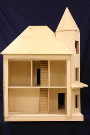 The Dunwoody Dollhouse Shell Kit - Click Image to Close