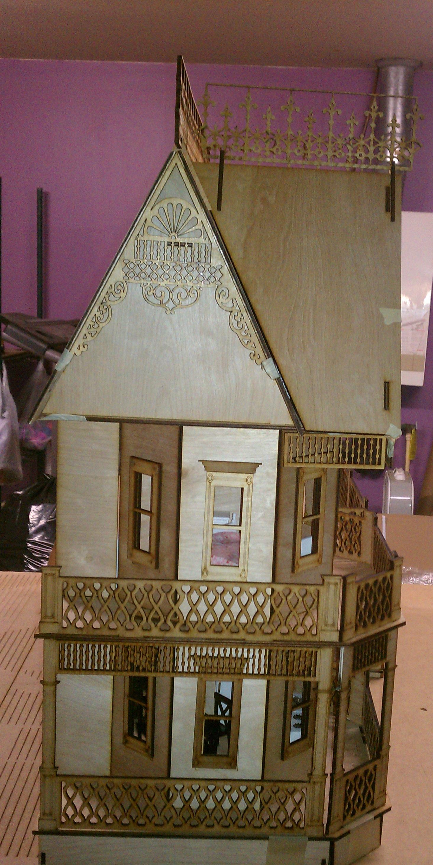 Victorian Gingerbread Farmhouse Dolhouse 438 00 Manhattan